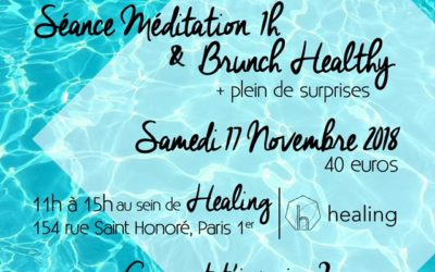 Méditation suivie du #brunch MademoiselleB: tu es partante?